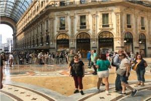 Modanın kalbi Milano